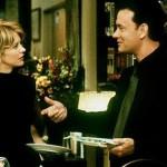 """Em """"Mens@agem para Você"""", Meg Ryan e Tom Hanks são dois inimigos na vida real, mas que fazem uma bela amizade pela web (Foto: Divulgação)"""