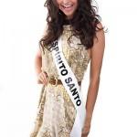 Miss Espírito Santo: Desiane Volponi. (Foto:Divulgação)