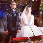 Moranguinho e Naldo em casamento (Foto: Divulkgação)