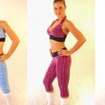 Calças coloridas para academia (Foto: Divulgação)