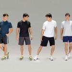 Roupas masculinas de academia (Foto: Divulgação)