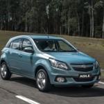 O Chevrolet Agile ganhou um novo visual em sua versão 2014 (Foto: Divulgação)