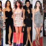 Selena tem muito bom gosto ao escolher os seus vestidos. (Foto:Divulgação)