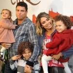 Ronaldo e Bia Anthony com seus filhos (Foto: Divulgação)