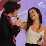 Fiuk e Fábio Junior tem boa relação com Cleo (Foto: Divulgação)