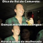 Rei do Camarote e sua super dancinha (Foto: Divulgação)