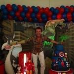 O Rei do Camarote  em festas menos populares (Foto: Divulgação)