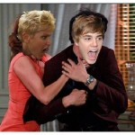 Xuxa e Bieber entraram na onda (Foto: Divulgação)