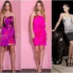 Outros modelos de vestido de cetim, mais versáteis (Foto: Divulgação)