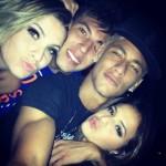 Neymar, Bruna e casal de amigos (Foto: Divulgação)