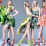 Vestidos floridos verão 2014