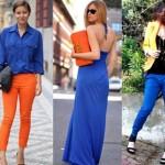 Dicas para usar roupas azul royal