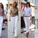 Calça branca verão 2014: como usar, dicas
