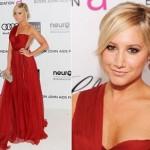 O vestido vermelho é muito glamouroso (Foto: Divulgação)
