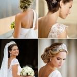 Noivas: como combinar o penteado com o decote do vestido