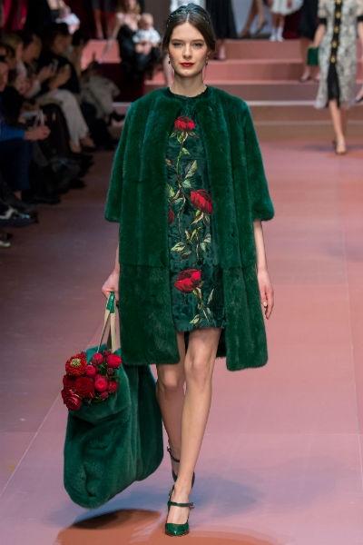 Desfile Dolce & Gabbana inverno 2016 2