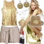 Dicas de acessórios dourados para seu look