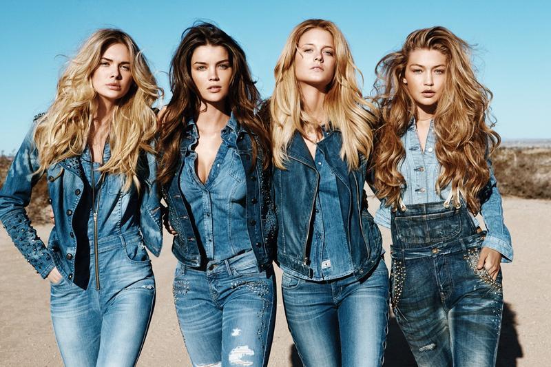 O jeans é tendência (Foto: Divulgação)