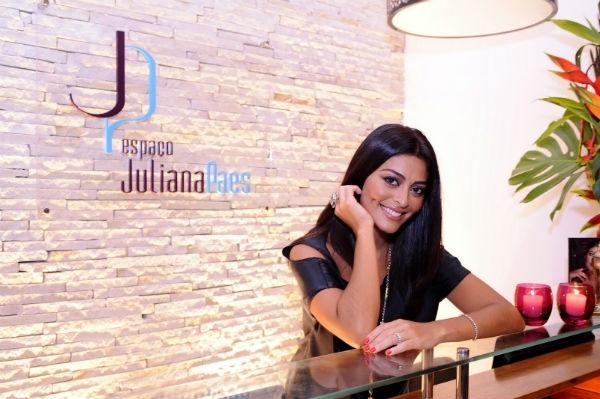 A atriz Juliana Paes possui uma franquia de salão de beleza (Foto: Divulgação)