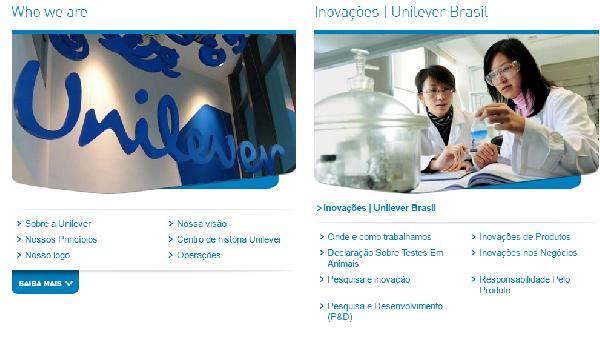 Na Unilever seu futuro está garantido (Foto Divulgação: Unilever)