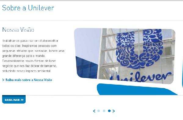 A Unilever disponibiliza o RH para quem busca por emprego (Foto Divulgação: Unilever)