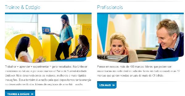 No site da Unilever você encontra todos os endereços (Foto Divulgação: Unilever)