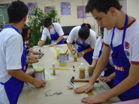 Inscrições cursos técnicos SENAI 2016