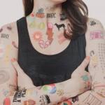 Tatuagens Temporárias Adesivas Para o Corpo 22