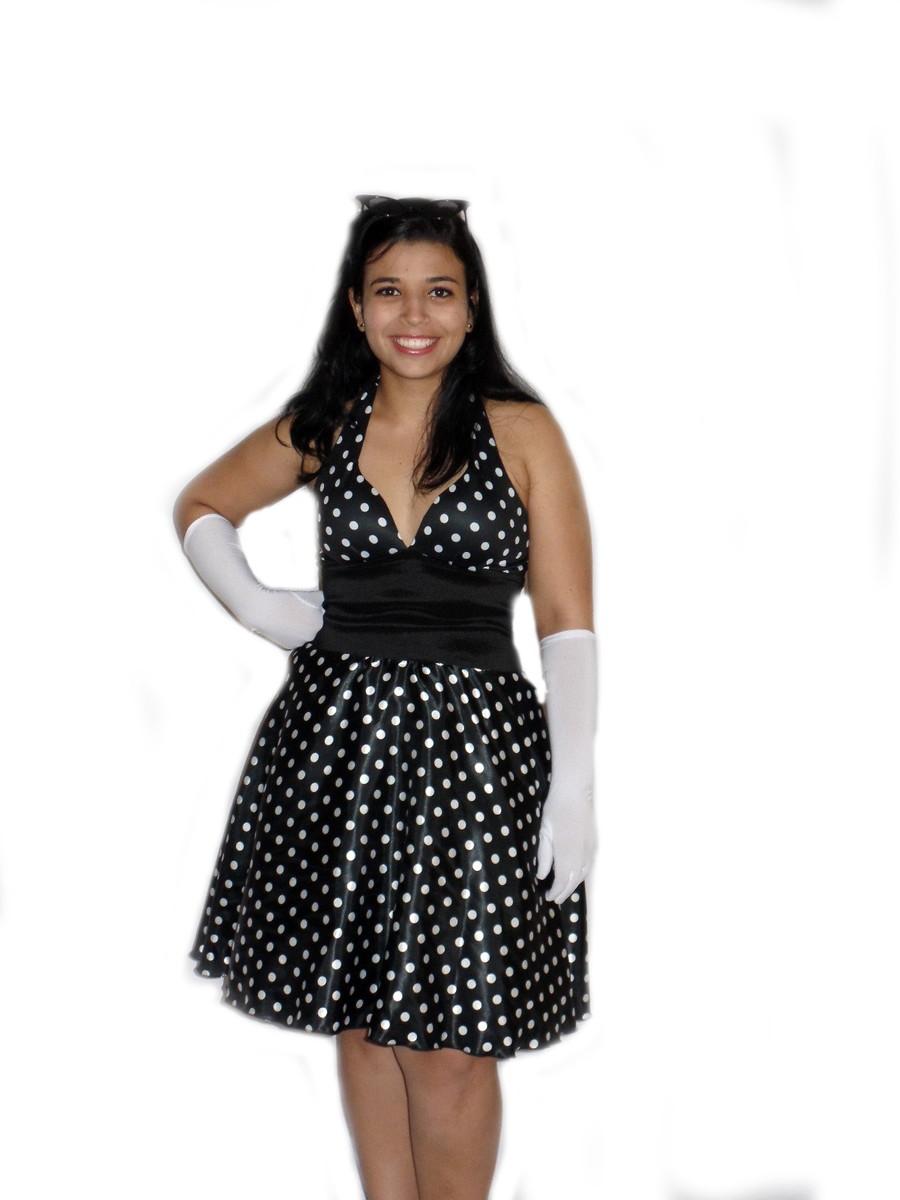 Vestido anos 50 (Foto: Elo7)