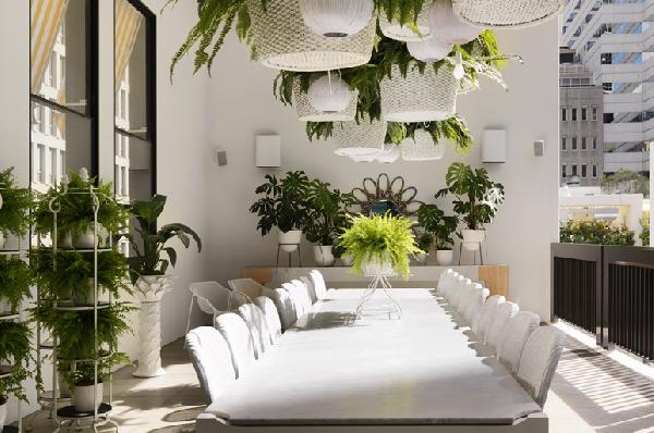 Você pode montar um jardim suspenso dentro de casa (Foto Divulgação: Casa/ Abril)