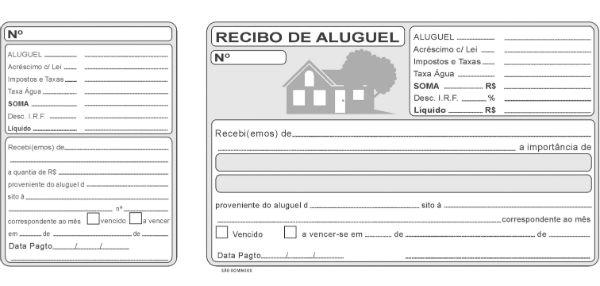 Modelo de Recibo de Aluguel Anual (Foto: Divulgação)