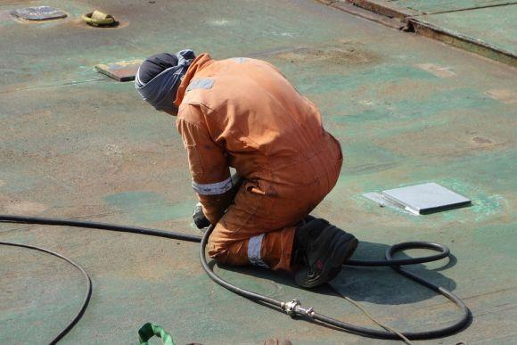 O Soldador tem um amplo mercado de trabalho (Foto Ilustrativa)
