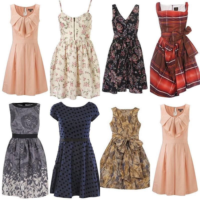 Vestidos inspirados nos anos 50 (Foto: Divulgação)