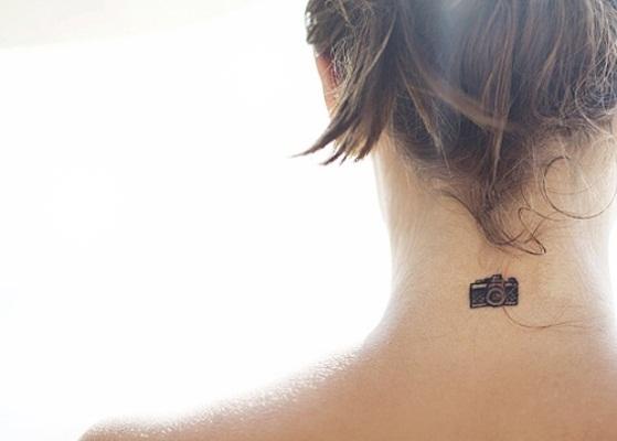 Para as mais comportadas existem as tatuagens pequenas e discretas. (Foto Ilustrativa)