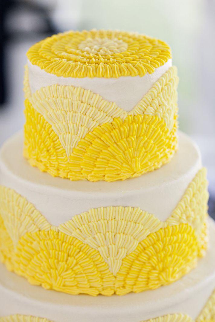 decoracao branco amarelo : decoracao branco amarelo:Decoração de casamento amarelo e branco (Foto: Divulgação)