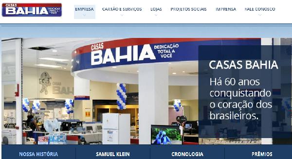 Casas Bahia Atendimento ao Cliente - Telefone e Site (Foto Divulgação: Casas Bahia)