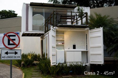 Um modelo de casa pequena e sustentável (Foto: Casa Abril)
