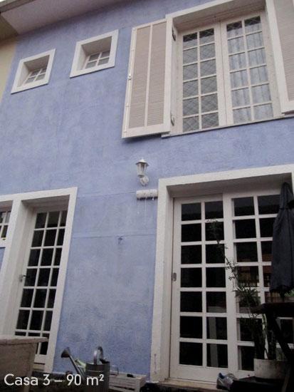 Tente fazer uma casa no padrão do seu conjunto habitacional (Foto: Casa Abril)