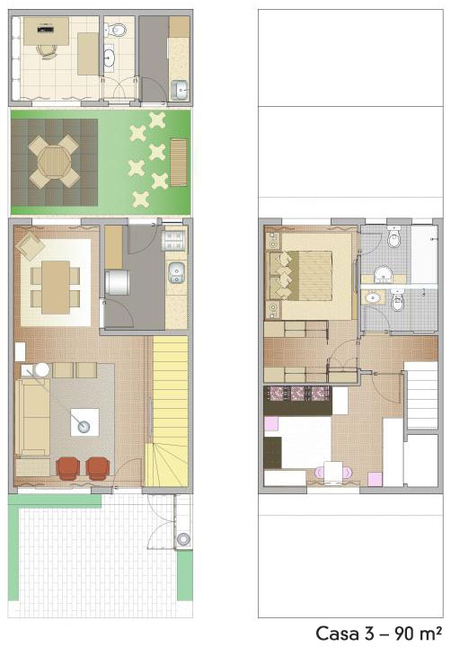 Casa bonita e pequena para quem vai morar em um local diferenciado (Foto: Casa Abril)