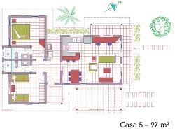 Planta de Casas Populares Grátis