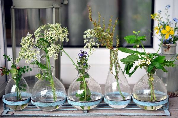 Vasos de Vidro para Decoração na 25 de Março 2