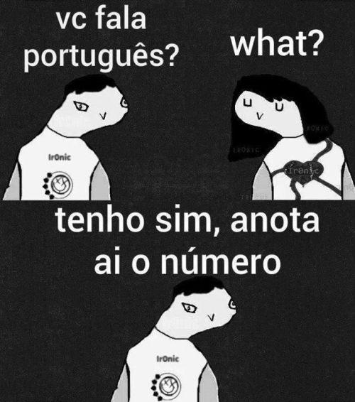 Confundindo os idiomas (Foto: Reprodução Internet)