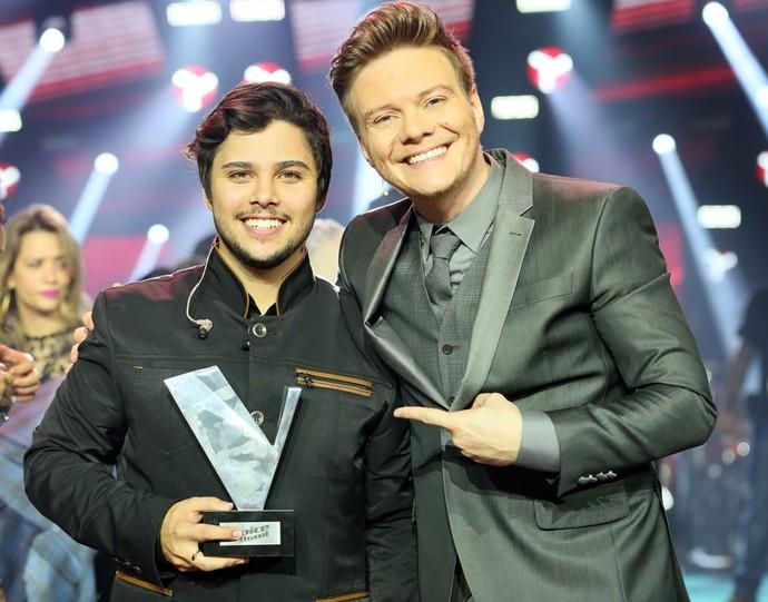 O grande vencedor da 4ª edição (Foto: Tv Globo)