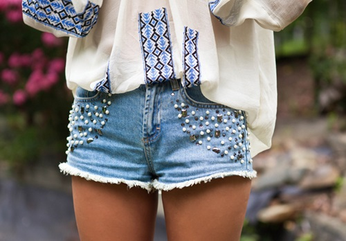 O shorts do verão 2015 pode ser customizado de diversas formas (Foto: Divulgação)