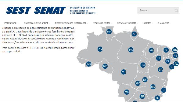 O SEST SENAT está presente em todo país (Foto Divulgação: SEST SENAT)