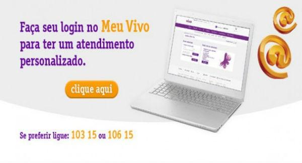 Atendimento VIVO também online (Foto: Divulgação)