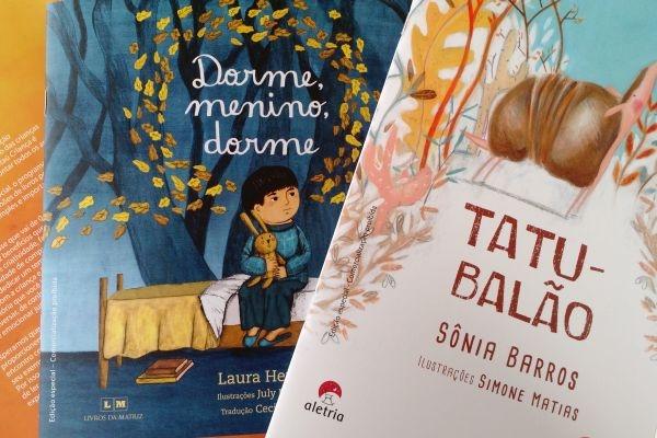 Livros Itaú feitos para crianças (Foto Divulgação: Itaú)