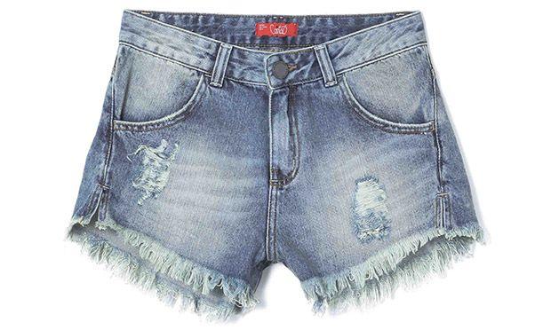 Shorts simples e lindo (Foto: Mdemulher)