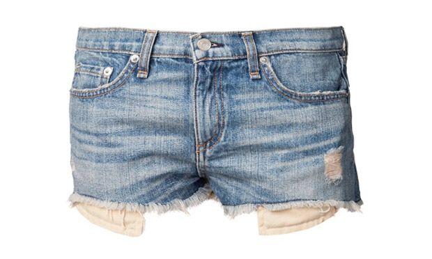Usa elementos para decorar o seu shorts (Foto: Mdemulher)