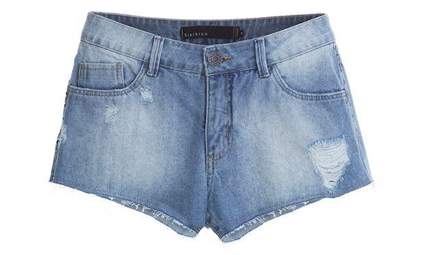 Shorts com pouco detalhes (Foto: Mdemulher)